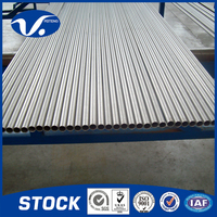 Industrial ASTM B 338 Seamless Gr2 Titanium Pipe For Heat Exchanger