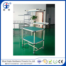 metal pipe joints union for rack system and worktable