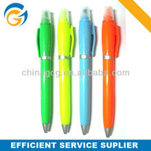 Hot!Rubber Grip 2 Color Promotion Cartoon Click Ball Pen