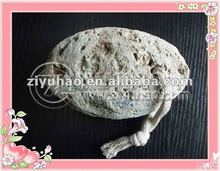 Natural White Egg Shape Pumice Stone For Foot Massager
