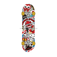 Winmax new retro skate board,black grip tape boy & girl maple skateboard deck
