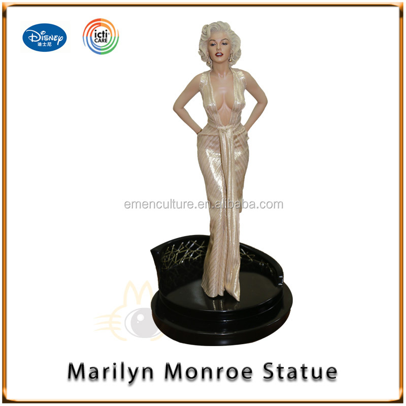 1/4 Statue Marilyn Monroe Sexy Resin Figure