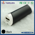 Factory supply mini power bank with 18650 battery