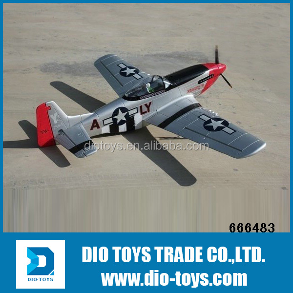 1.4m P51 Mustang Brushless salto glider rc airplane