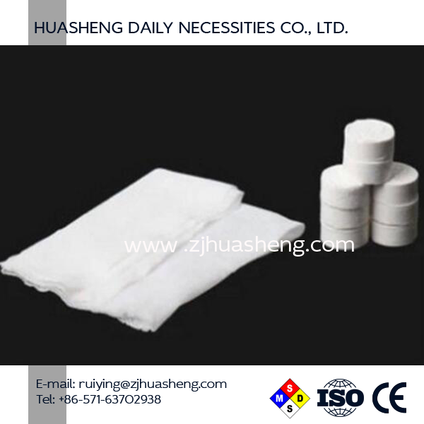 2017 high quality 100% cotton custom compressed towel