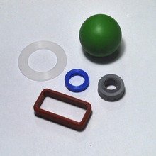 China factory solid high density rubber ball