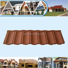 high quality 50 years service steel roof tile of zinc aluminium