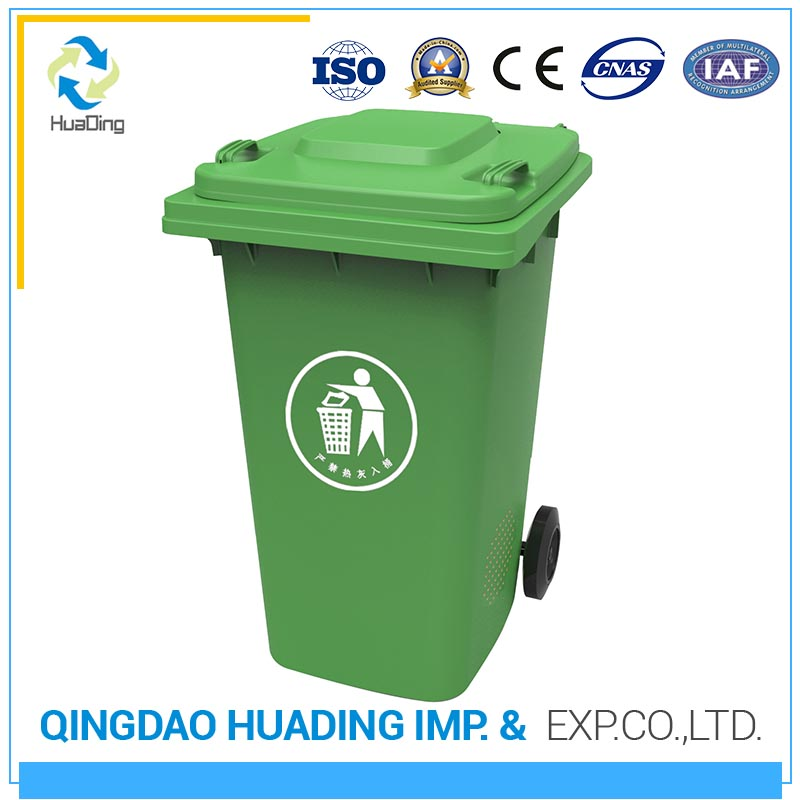 Large outdoor rubbish chute skip bins waste bin