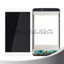 White for lg g pad 8.3 v500 lcd touch screen digitizer replacement assembly