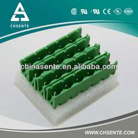 STMB2.5/HC7.62 Green 7.62mm g rail terminal blocks hot sale
