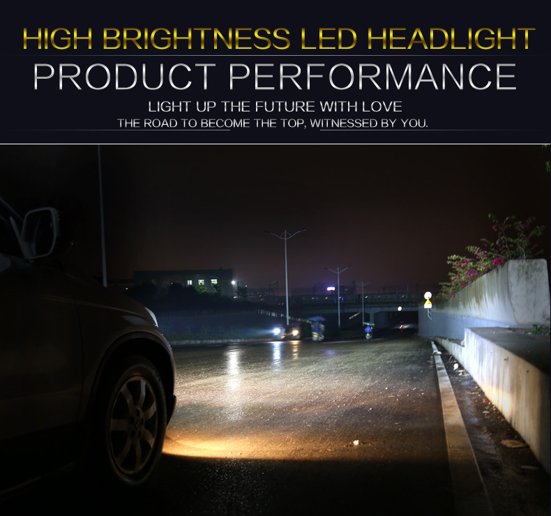 Wholesale Super Bright IP68 3200lm Car Accessories auto LED Headlight 880