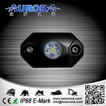small size and IP68 waterproof AURORA rock lights ip68 truck rock lights