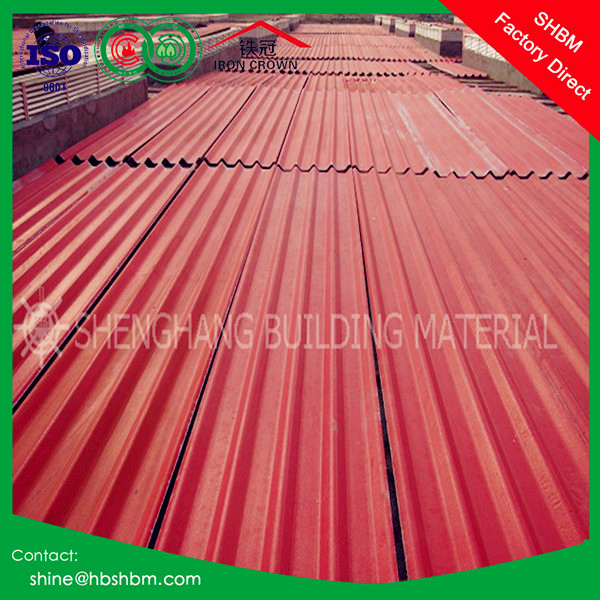 high strength MGO anti corrosive fireproof insulated roofing sheet better than copper colored metal roof