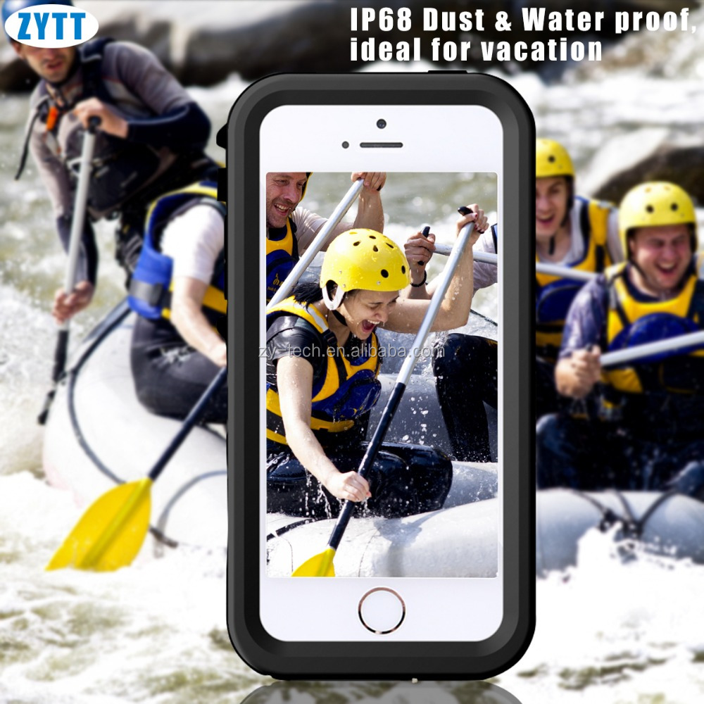 waterproof mobile phone case for iphone 5,color oil and laser custom case