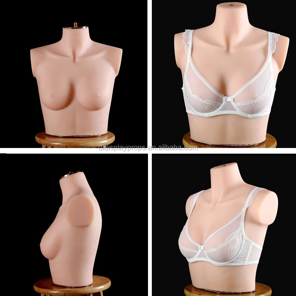 No.2 C1-A female silicone torso women mannequin sex fittting tailor silicon mannequin big bust half body lingerie mannequin