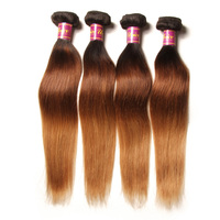 china supplier high quality grade 6a brazilian cheap ombre hair extension