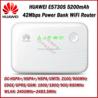 New Arrival DC-HSPA+ 42Mbp 5200mAh E5730S 150Mbps Portable 3G Wireless Router & Power Bank