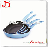 HIGH QUALITY PRESSED ALUMINUM BLACK NON STICK FRYING PAN SET
