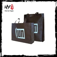 Brand new folding shopping bag, non woven fabric sand bag, printed shopping bag