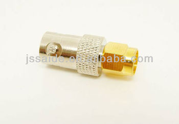 SMA male to BNC female adapter RF connector