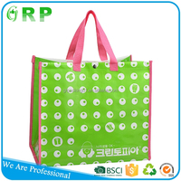 Alibaba hot selling easy clean shopper pp non woven bag