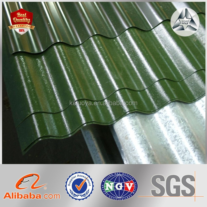 Online Shopping color coated roofing GI PPGI corrugated steel sheet