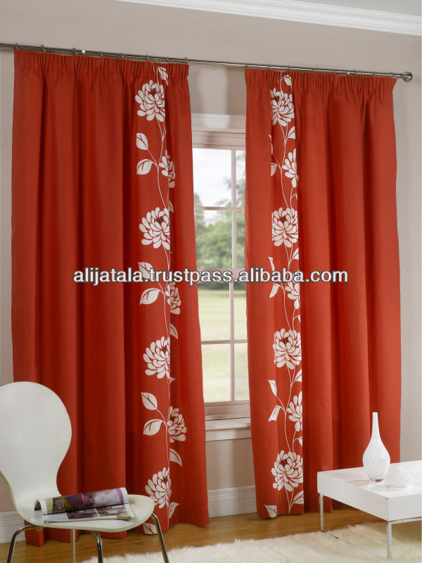 Printed Tape Curtain