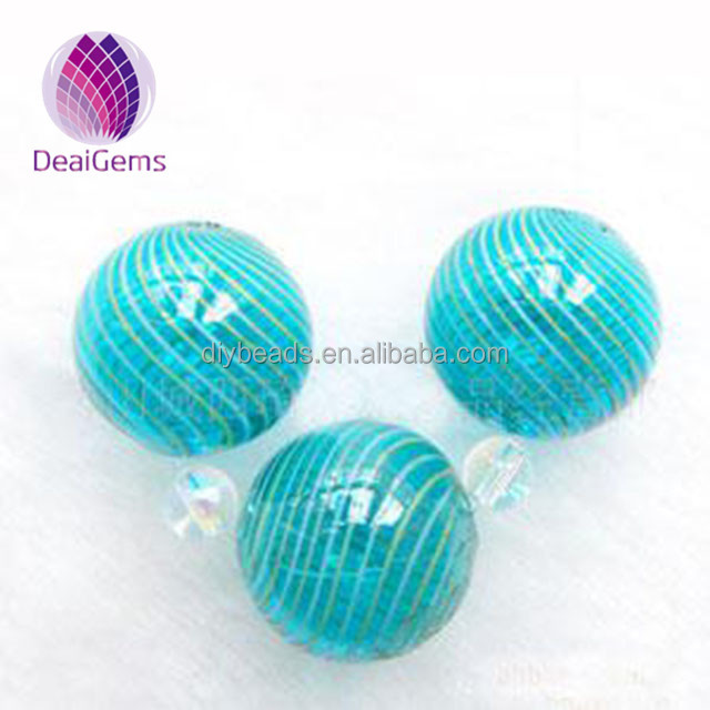 High quality 20mm hand-blown hollow glass beads wholesale