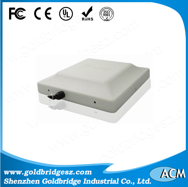 RS-232/485 Weigand 26/32bits communication RFID UHF Integrated Long Range Passive Reader