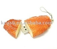 Food USB Flash Drive,Chicken wing shape USB Disk