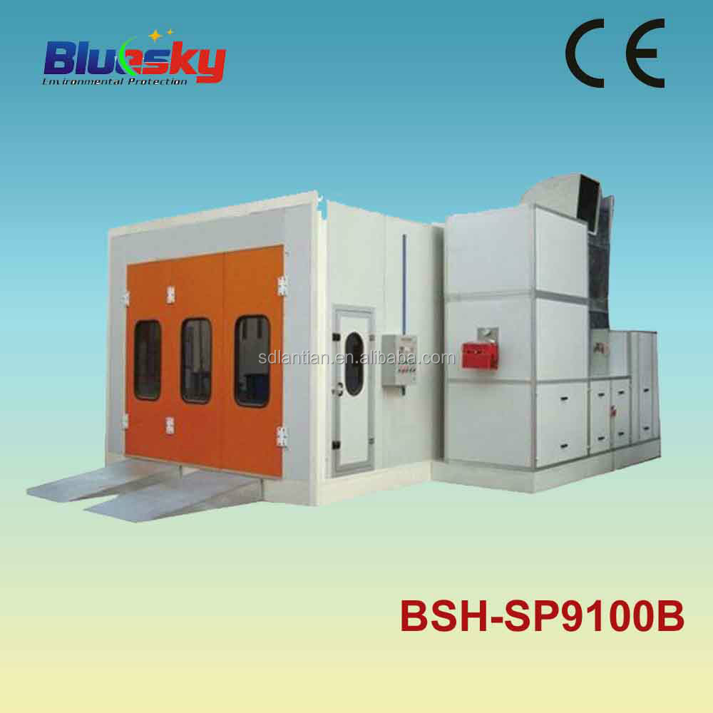 Alibaba china supplier CE approved paint spraying cabin/car baking booth/painting equipment