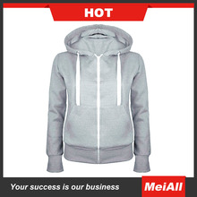 Hot Sale whosale Zipper Hoody For Men Contrast Hoody Blank Plain Sweat Shirt