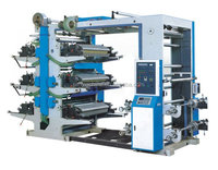 Automatic flexible printing Machine for Plastic Bag Production line