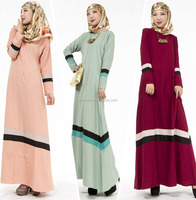 2016 new design islamic clothing abaya jalabiya kaftan