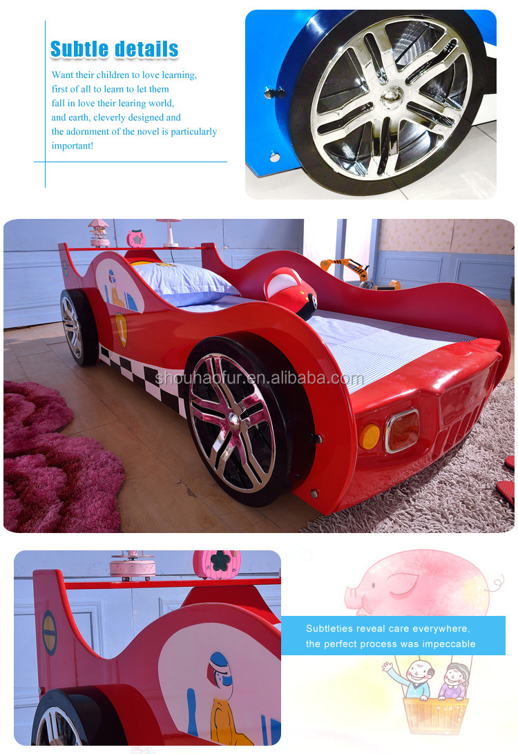 2016 Hot Sale girl car bed