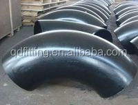 pipe fitting supplier ANSI B16.9 SCH 40 90degree carbon steel elbow