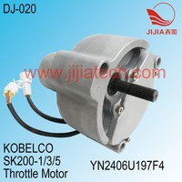 KOBELCO Throttle Motor of SK200-1/3/5 Excavator, YN2406U197F4