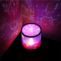 Novelty DIY Night Sky Projection Kit LED Star Night Light Projector Lamp for Kids Beside Room Desk Decor