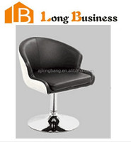 European popular simple design swivel wooden bar stool