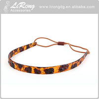 Wholesale kids headband, plastic Leopard pattern headband