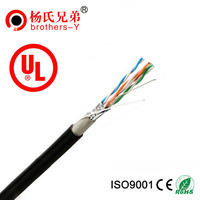Outdoor messenger support wire cat5e cable CE ROHS approval