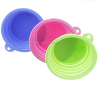 Hot silicone pet food container