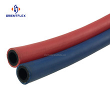 Rubber/pvc Twin line Welding hose acetylene oxygen gas air rubber pipe