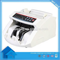 12 months high accuracy FCC currency counter machine banknote counter