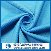 polyester eyelet honeycomb fabric for shirt