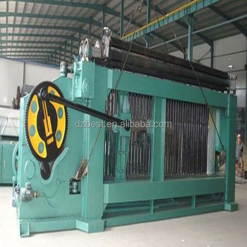 4300mm Max Mesh Weaving Width Heavy Duty Hexagonal Gabion wire mesh Machine for 3.5mm Wire, 22kw