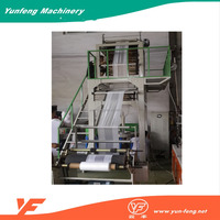 Lowest Price Plastic And Nylon Wrapping Film Extruder Machine