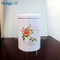 CMYK Printing Fancy Metal Tin Storage Box