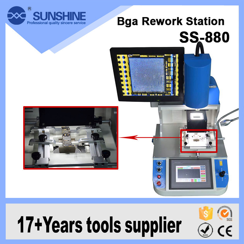 High Quality Optical Alignment Motherboard BGA Chip Repair Machine