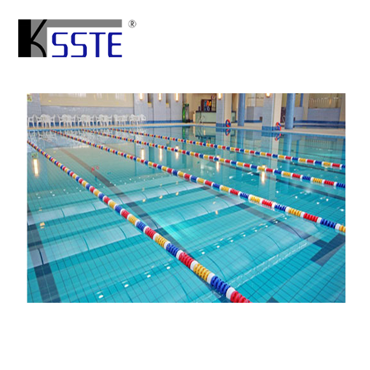 Swimming pool float lane line Competition Equipment swim lanes ropes with hooks